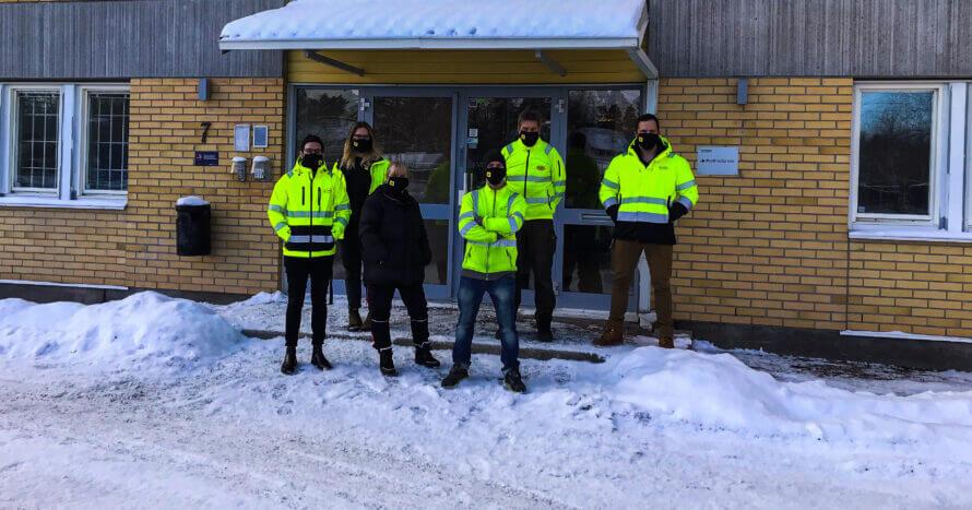 JE Mark Anläggning markservice Skötsel Stockholm