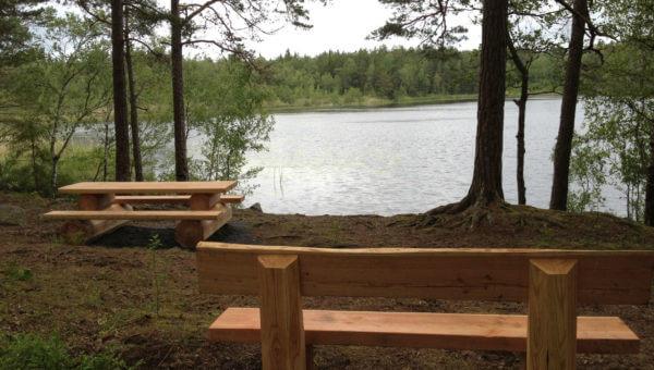 Anläggning Soffa bänkbord Södersjön