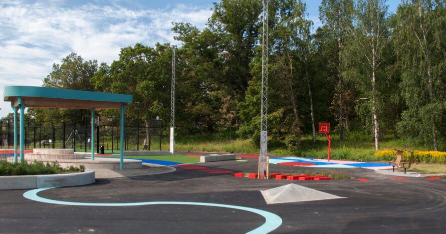 Röllingbyparken-lekplats-JE-Mark-anläggning