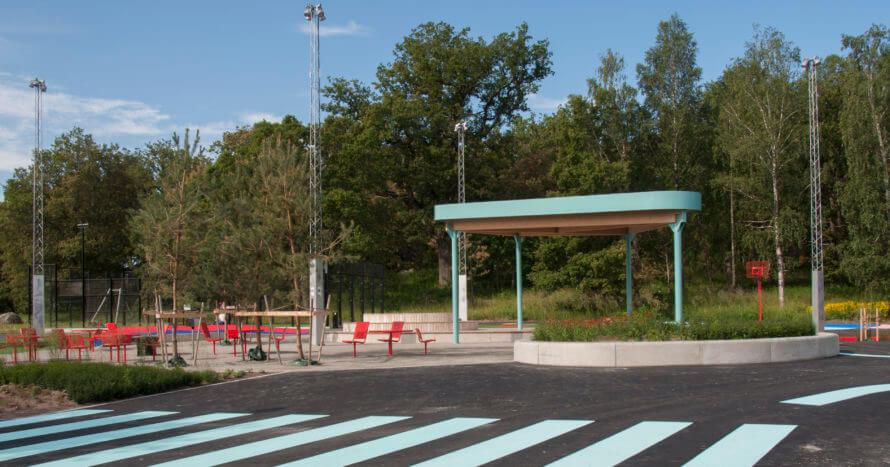 Åkersberga-lekplats-JE-Mark-anläggning