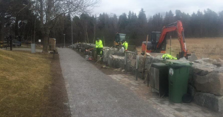 JE-Mark Anläggning mur-uppbyggnad-lagning