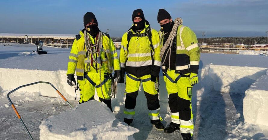JE Mark Anläggning markservice Skötsel Stockholm snöhantering