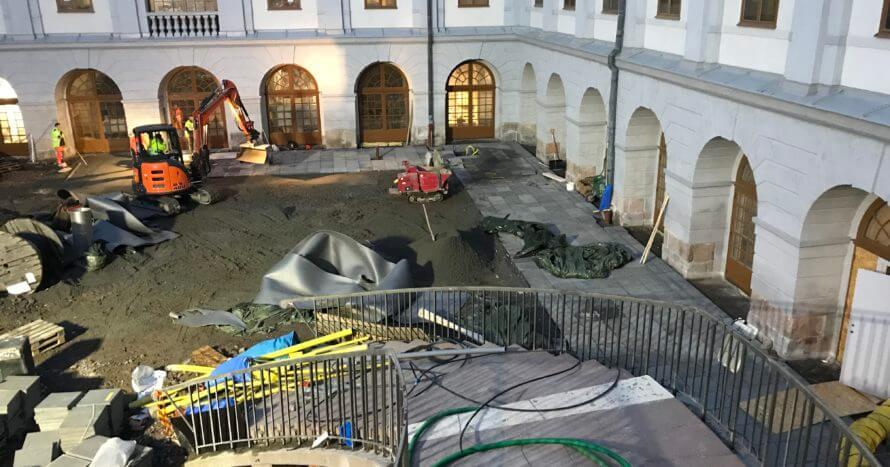 Stadsmuseet anläggningsjobb JEMark