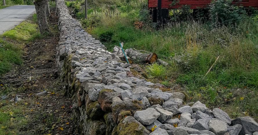 mur adelsö-restaurering