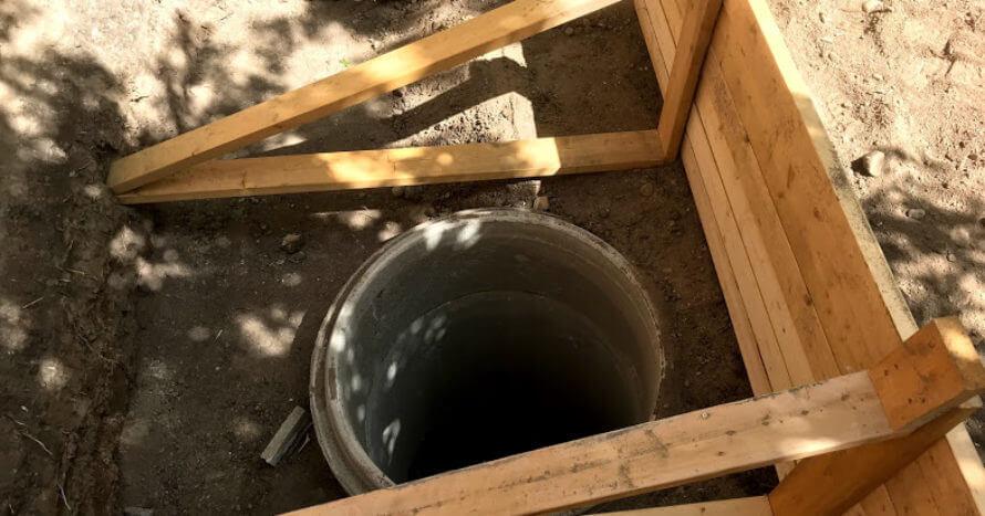 radonbrun jemark anläggning